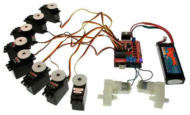 Immagine del corso di robotica elettronica Immagine del campus 03