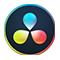 Davinci resolve, logo icono de software programa
