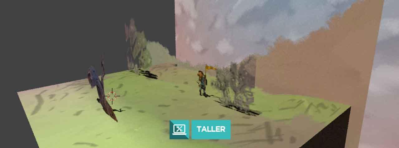 2D (y Medio!) Composición 2D en entorno 3D - Micro taller con Blender