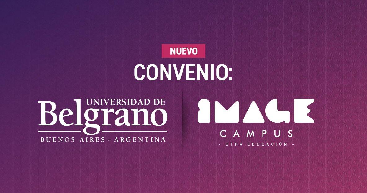 Educative agreement. Belgrano University + Image Campus
