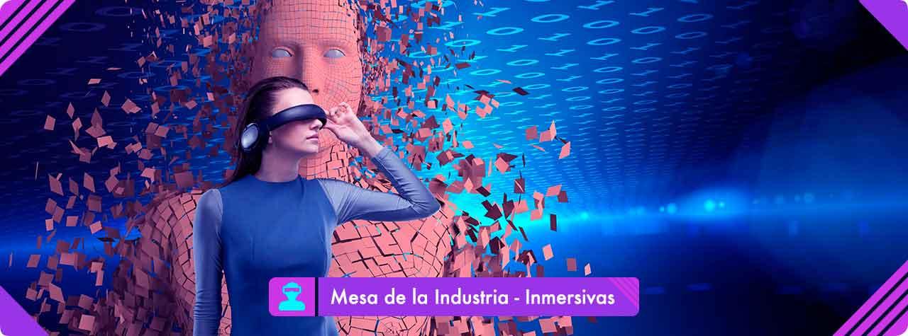 Industrie des technologies immersives: création, production et distribution de contenu