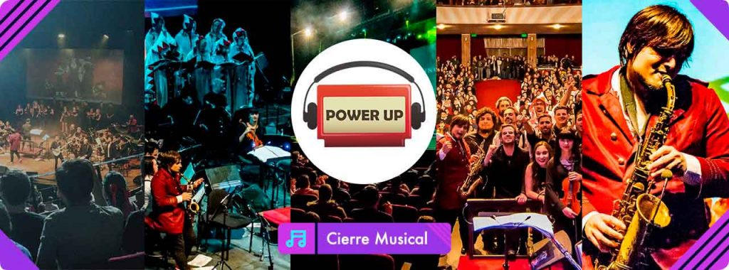 Clôture musicale: Power Up