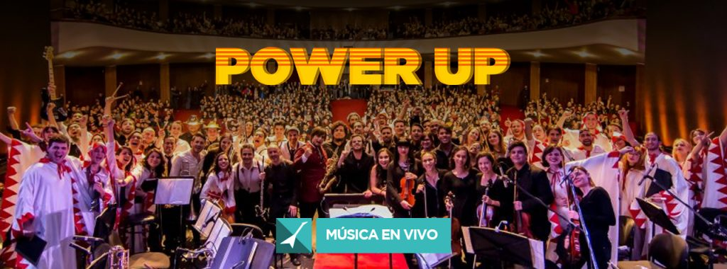 Power Up en Vivo 2019