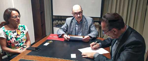 Firma del Convenio Educativo. Universidad Belgrano + Image Campus
