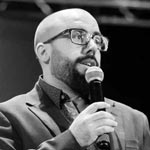 Mauricio José Navajas, 34 años, licenciado en administración de empresas, Presidente de ADVA (Asociación de Desarrolladores de Videojuegos Argentina