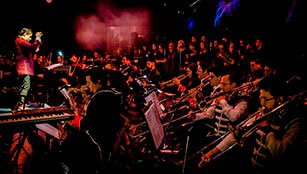 Cierre musical Banda Power Up