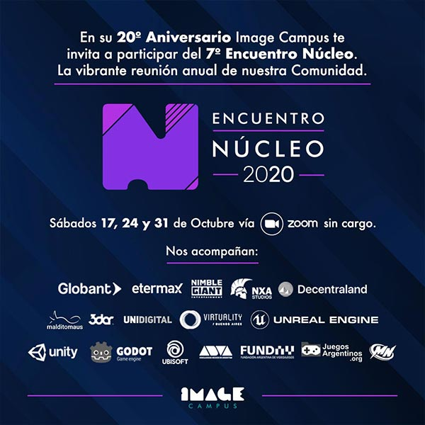 Nucleo 2020 banner