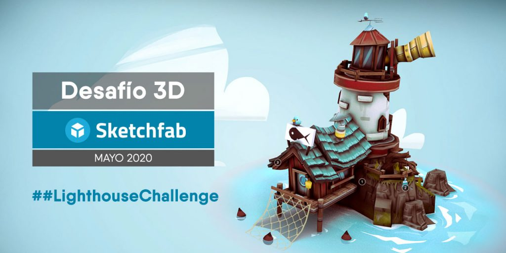 May Modeling Challenge by Sketchfab