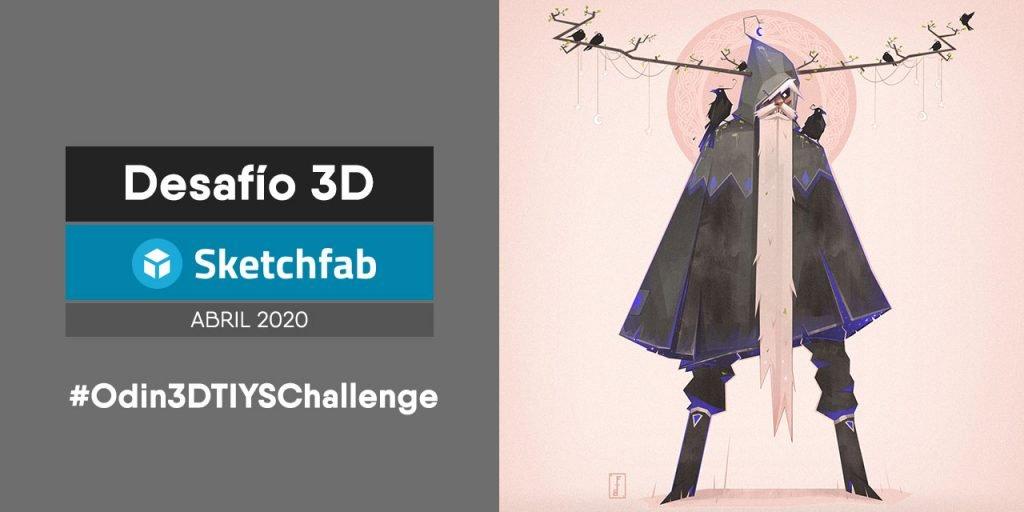 April 3D Challenge par Sketchfab