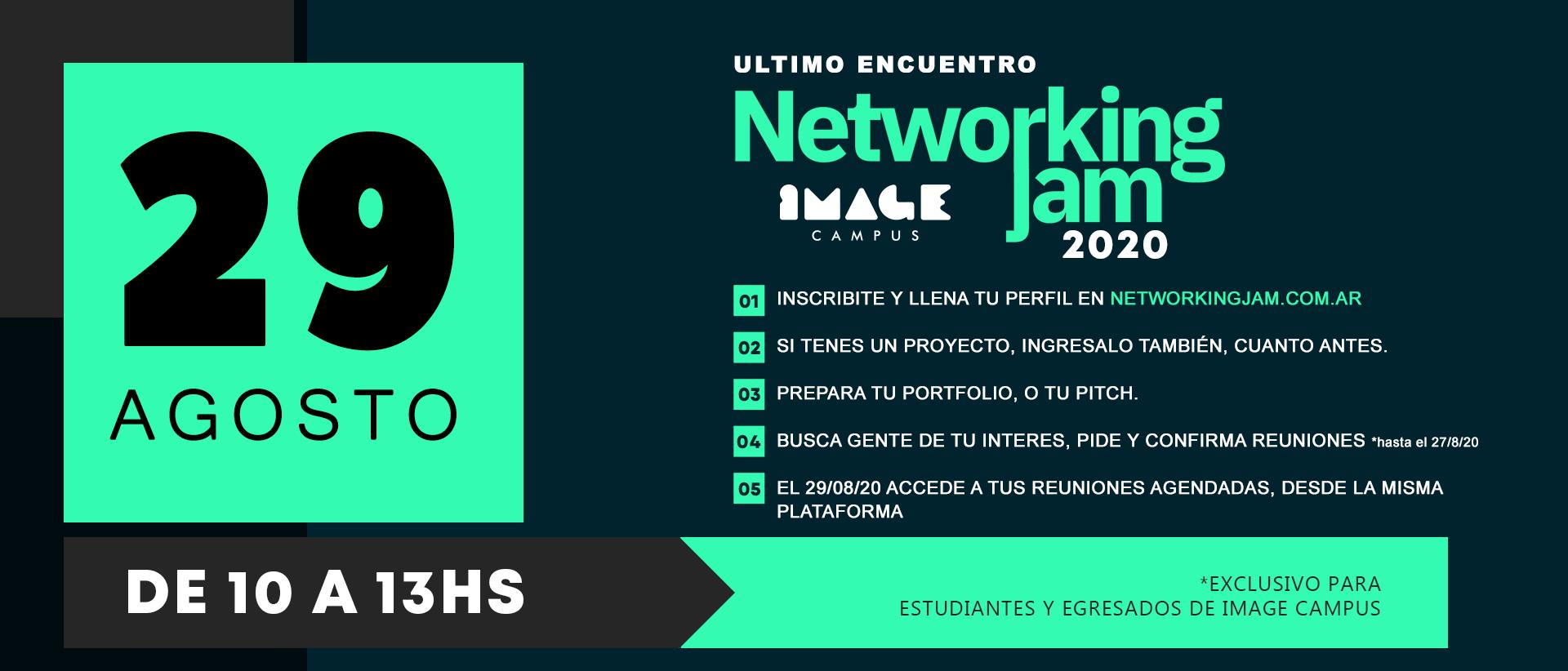 Troisième réunion - Networking Jam 2020 - Image Campus