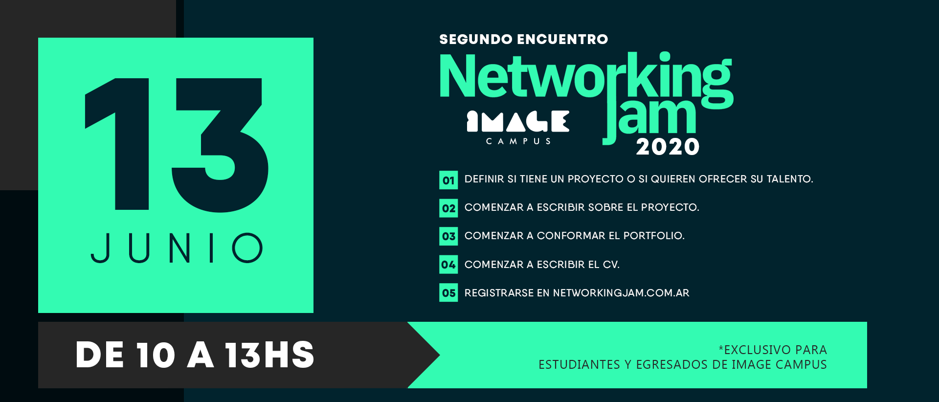 2e réunion Networking Jam 2020 - Campus Image