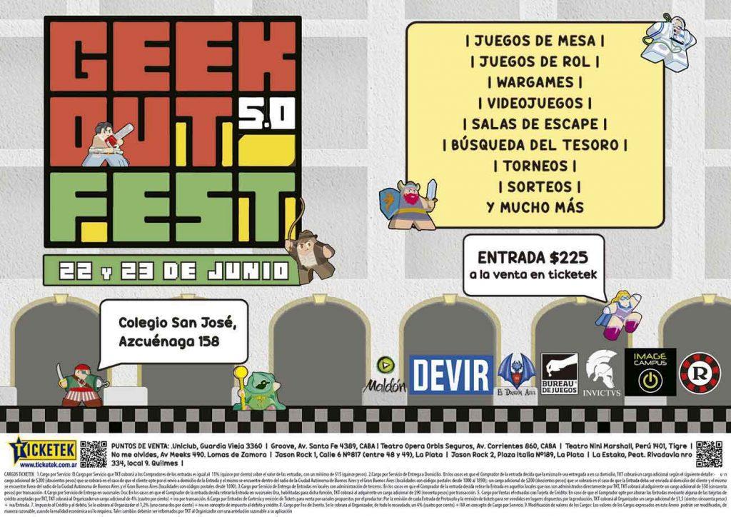 L'édition 5 du Geek Out est arrivée! Fest