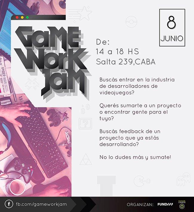 Game Work Jam 2019 - 08 de Junio