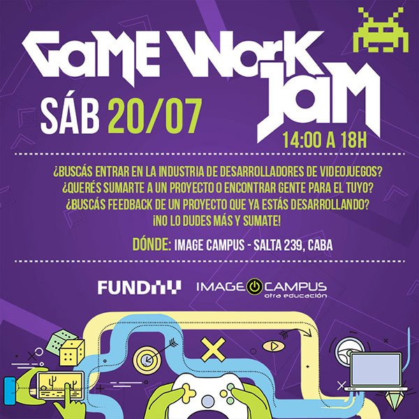 Game Work Jam 2019 - 20 De Julio