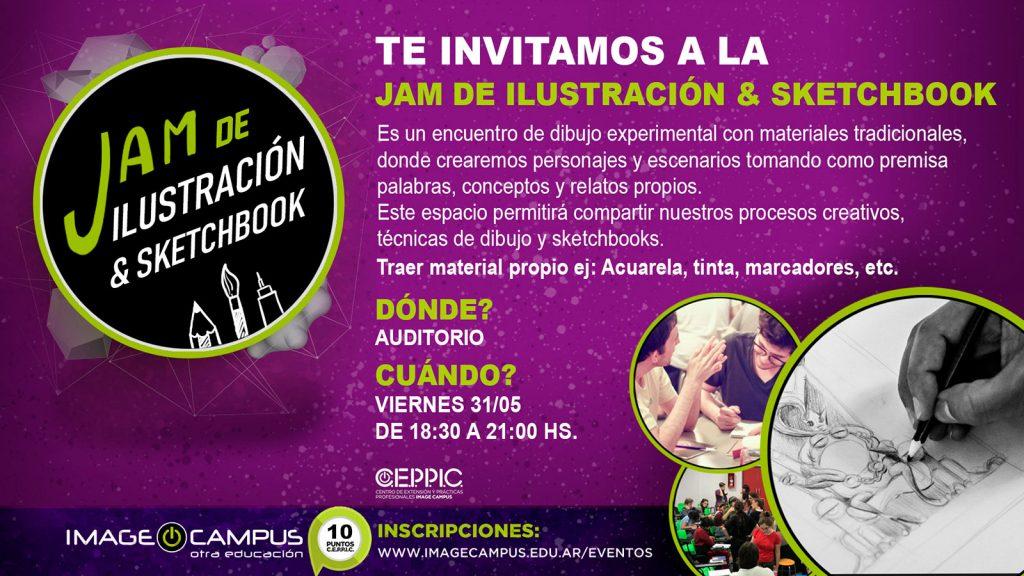 Jam de Ilustración & Sketchbook