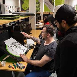 Aula Dibujo - Infraestructura y Recursos Tecnológicos de Image Campus