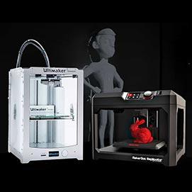 Impresoras 3D - Infraestructura y Recursos Tecnológicos de Image Campus