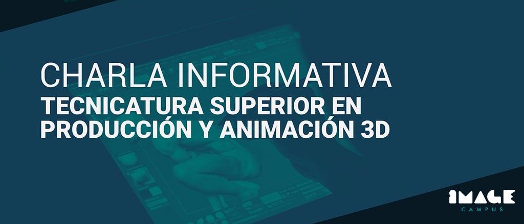 Discorso informativo - Tecnica superiore in produzione e animazione 3D