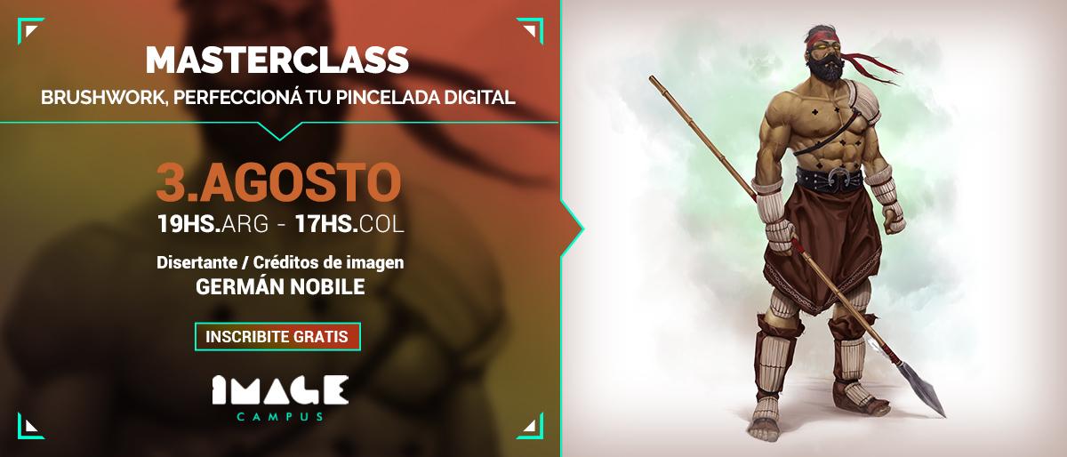 Banner MasterClass - Germán Nobile - August 3, 2021