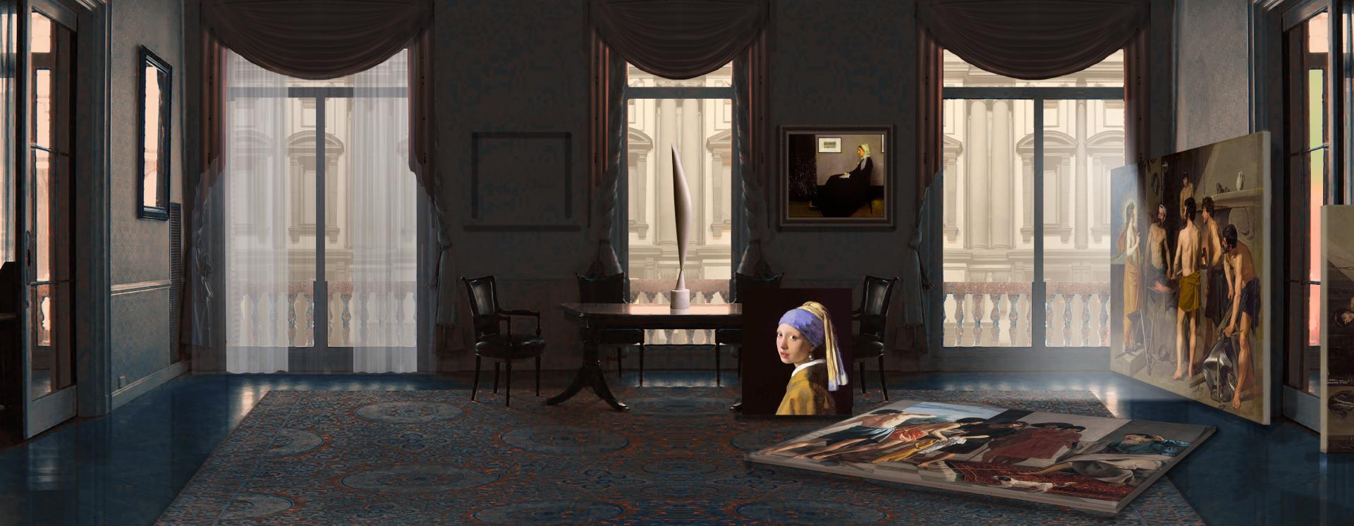 Van Meegeren Havia apenas um Vermeer? Obra, autores, falsificação e linguagem: Diário de um impostor