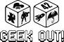 Logo Geek Out noir et blanc